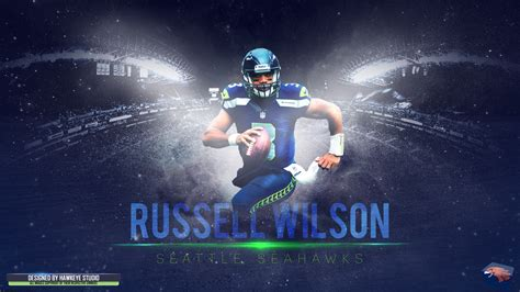 russell wilson full hd wallpaper  background image