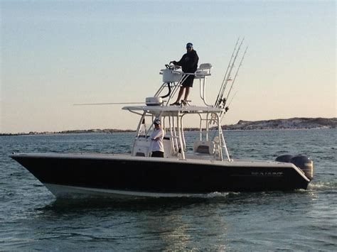 Boat Tower Console by Stability With A Cobia Tower Page 2 The Hull