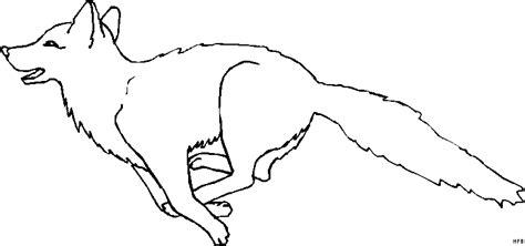 wolf auf der jagd ausmalbild malvorlage tiere