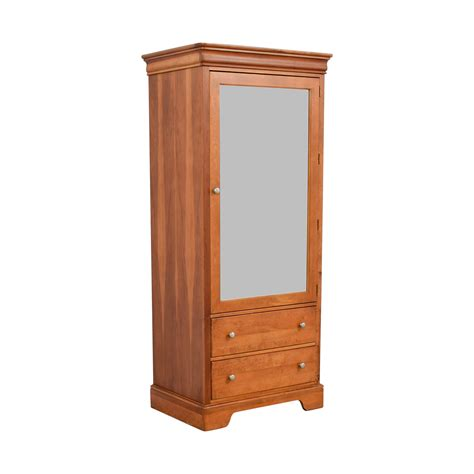 Buy Armoire - 73 stanley stanley mirrored armoire with two