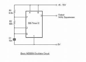 basic ne555 timer oscillator jtus journey to unknown With basic oscillatory circuits