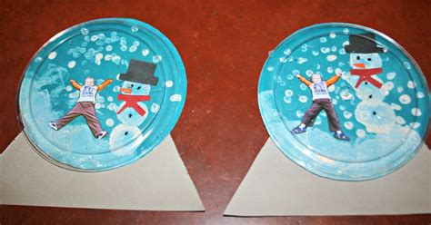 two bears farm and the three cubs snow globe craft 497 | 2