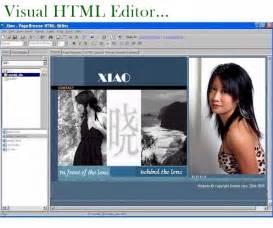 website designer freeware free website builder visual web page builder pagebreeze freeware