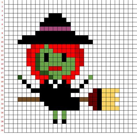 la pixel art  halloween giochiamo  codici mostruosi