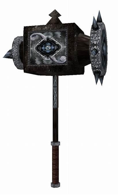 Hammer Stendarr Artifacts Aedric Scrolls Elder Weapon