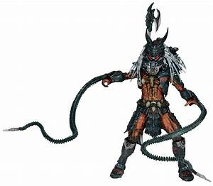 "Predator 7"" Scale Action Figure Deluxe Clan Leader"