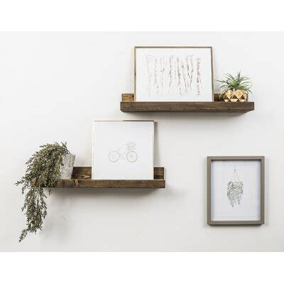 wall display shelves youll love   wayfair