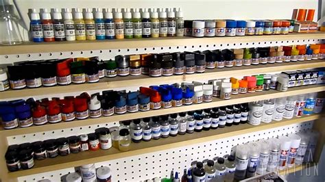 gunpla fixation hobby paint rack paint rack garage