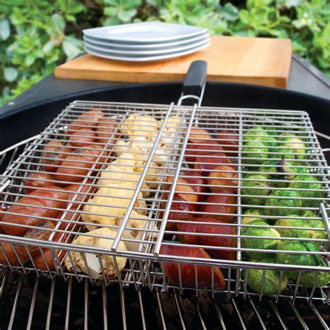 steven raichlen  compartment stainless grilling basket
