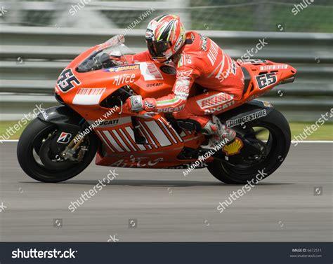 Italian Loris Capirossi Ducati Marlboro At 2007 Polini