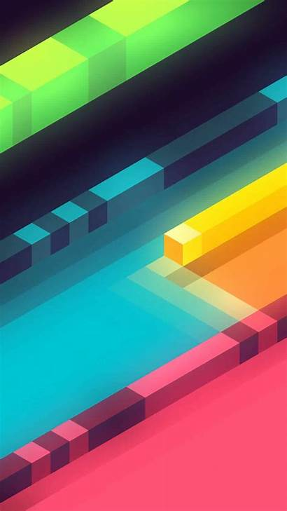Cool Wallpapers Abstract Colorful Shapes 3d Iphone