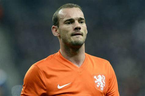 man utds indirect offer  wesley sneijder rejected