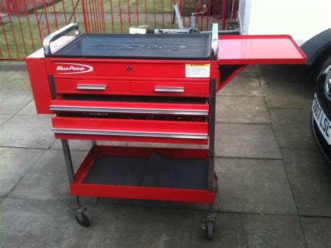 bluepoint snap  tool trolley cabinet tool box cart