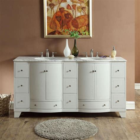 72 Bathroom Vanities - 72 quot transitional bathroom vanity white