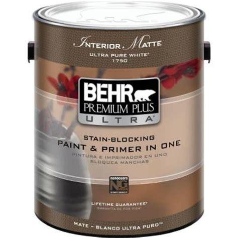 home depot interior paint brands behr premium plus ultra 1 gal ultra white matte
