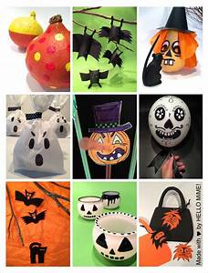 Bastelideen Für Halloween : 20 bastelideen f r halloween hello mime ~ Whattoseeinmadrid.com Haus und Dekorationen