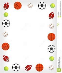 Basketball Sports Borders Clip Art