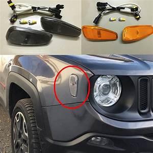 Accessoires Jeep Renegade : turn signal head light side lamp for 2015 2016 for jeep ~ Mglfilm.com Idées de Décoration