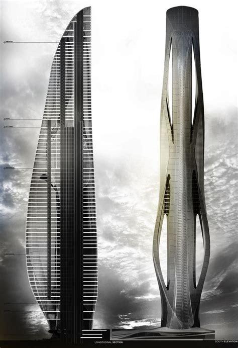 Relief Tower Danielcavendesign Skyscrapers