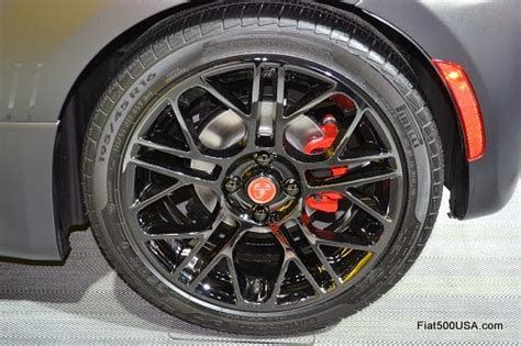 Fiat Abarth Wheels by New Fiat 500 Abarth Wheel Available Fiat 500 Usa