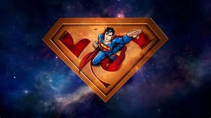 Superman Desktop Wallpapers Reeve Christopher Anniversary 75th