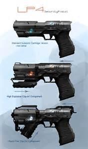 Futuristic Machine Gun Concept