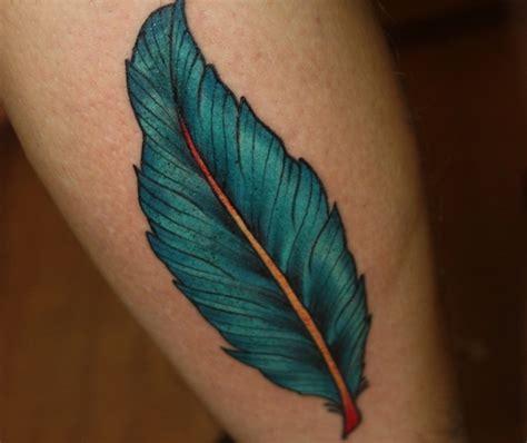 Tatouage Plume Oiseaux Homme Tattoo Art