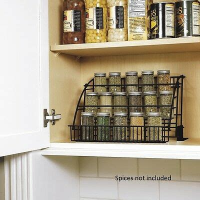 Pull Spice Rack By Rubbermaid by New Rubbermaid Kitchen In Cabinet Pull Spice Rack
