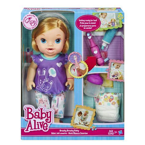 Amazon.com: Baby Alive Brushy Brushy Baby Doll - Blonde
