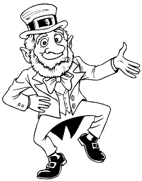 leprechaun coloring pages leprechaun coloring pages coloring pages to print