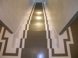 Décoration D Escalier Intérieur : decoration descente escalier interieur ~ Nature-et-papiers.com Idées de Décoration