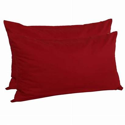 Pillow Cotton Cases Egyptian King 2pcs Bargains