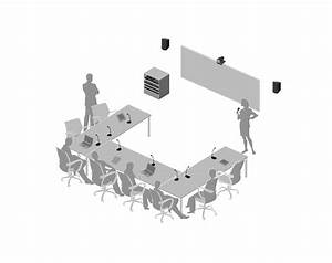 Corporate Meeting Room Setup With Microflex Installed