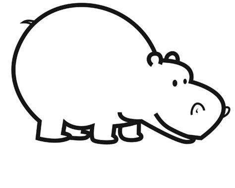 coloriage hippopotame couleur dessin gratuit  imprimer