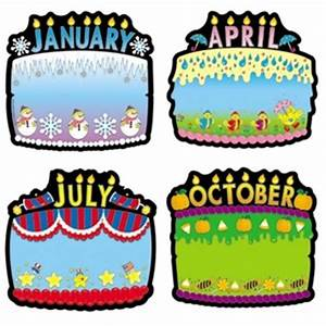 6 best images of birthday board printables rainbow With birthday bulletin board templates