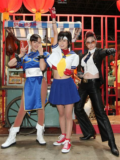 Street Fighter Femme Fatales Video Game Characters In