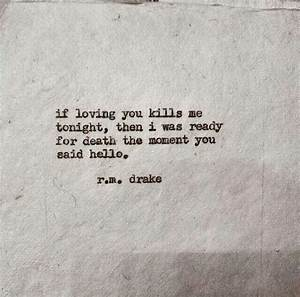 R M Drake Missing You Quotes. QuotesGram