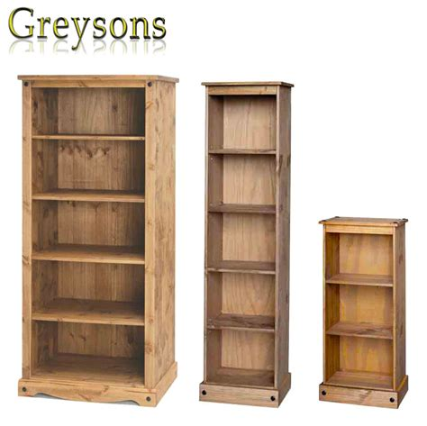 Mexican Bookcase by New Corona Mexican Pine Bookcase Storage Unit Display