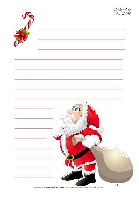 funny letter  santa writing paper santa  candy cane