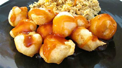 sweet batter sour pork chinese fry chicken shrimp honey recipe