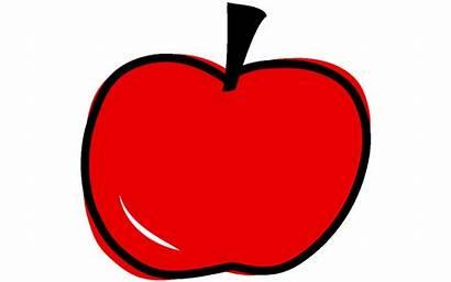 Clipart Apel Buah Gambar Alpukat Apple Gratis