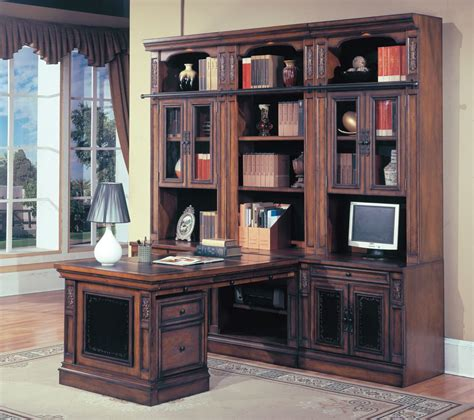parker house davinci home office library wall unit