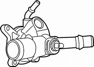 Nissan Altima Engine Coolant Thermostat Housing