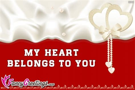 heart belongs    fancygreetingscom