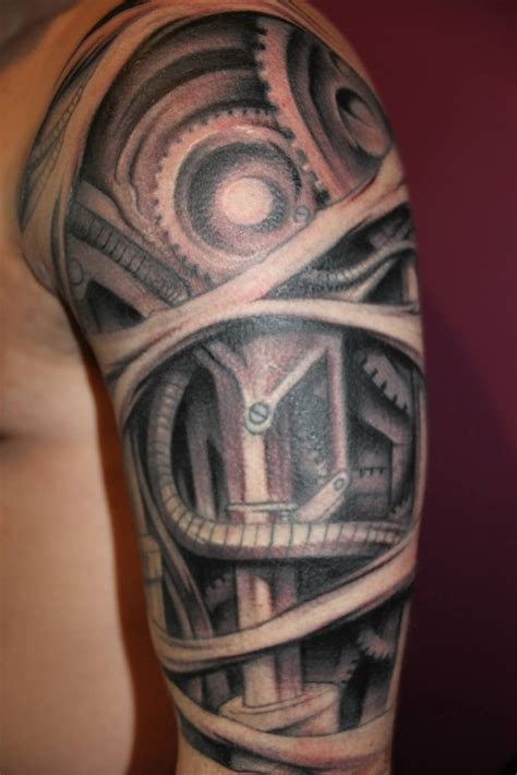biomech tattoos designs ideas  meaning tattoos
