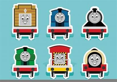 Thomas Train Friends Vector Clipart Vectors Clip