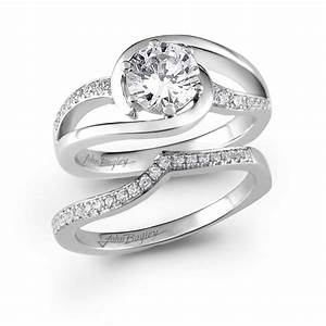 46 best images about swirl bridal sets on pinterest for Swirl diamond wedding ring set