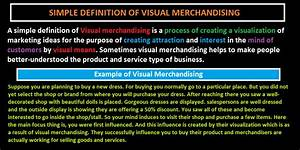 Process Chart Definition Visual Merchandising Definition Forms Process And
