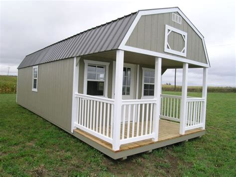 Amish Built Storage Sheds Indiana by Amish Built Portable Garage Shed Cabin Barn Tiny House No