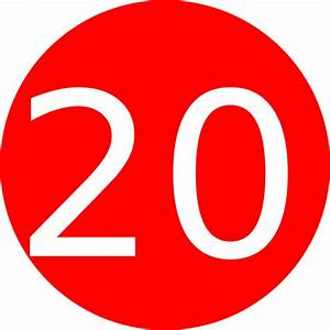 Number 20 Clipart | www.imgkid.com - The Image Kid Has It!
